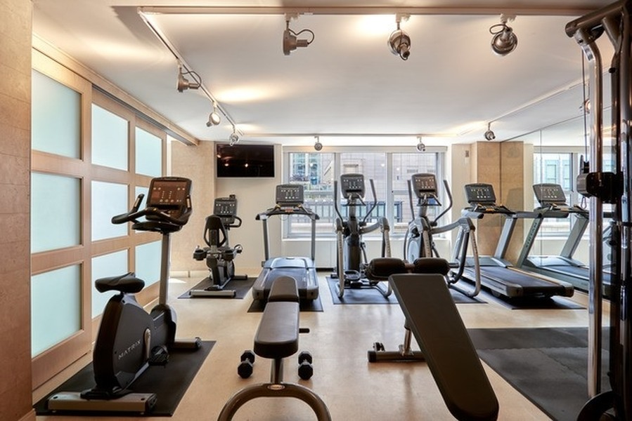 Real Estate Photography - 777 N. Michigan Avenue, Unit 2101, Chicago, IL, 60611 - Exercise Room