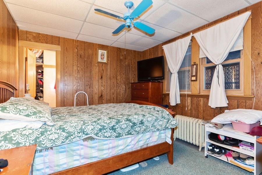 Real Estate Photography - 2445 Euclid Avenue, Berwyn, IL, 60402 - Bedroom
