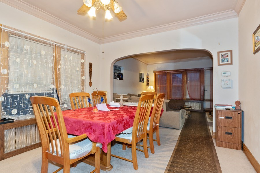 Real Estate Photography - 2445 Euclid Avenue, Berwyn, IL, 60402 - Dining Room