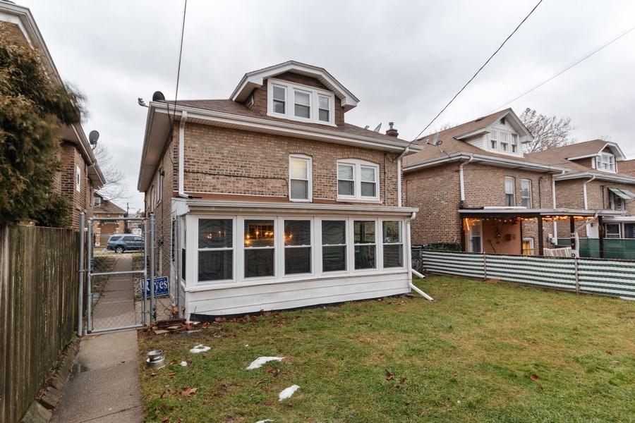 Real Estate Photography - 2445 Euclid Avenue, Berwyn, IL, 60402 - Back Yard