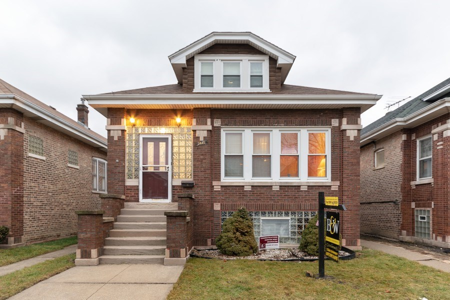 Real Estate Photography - 2445 Euclid Avenue, Berwyn, IL, 60402 - Front View