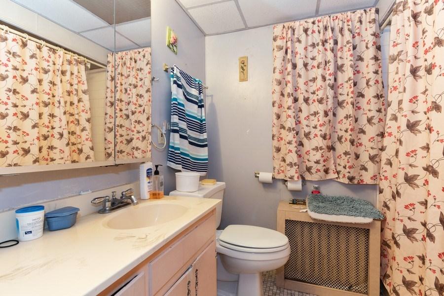 Real Estate Photography - 2445 Euclid Avenue, Berwyn, IL, 60402 - Bathroom