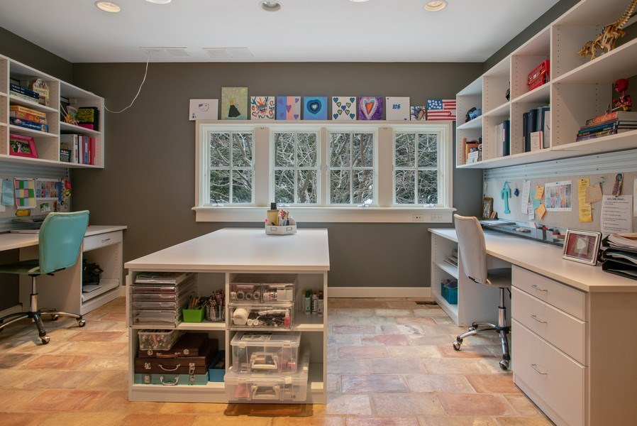 Real Estate Photography - 111 E. ONWENTSIA Road, Lake Forest, IL, 60045 - Hobby Room