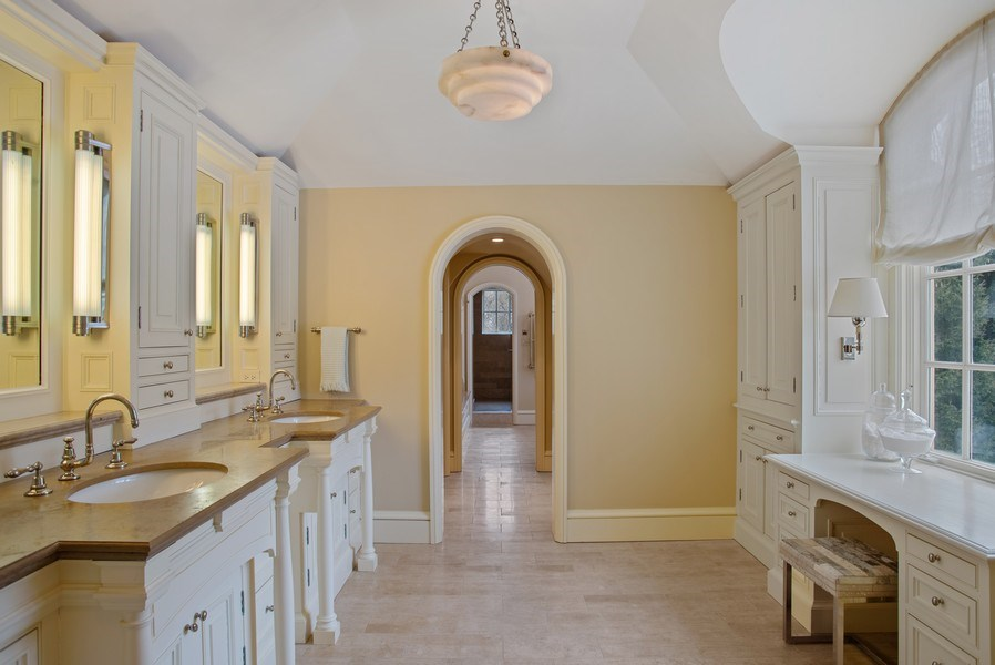 Real Estate Photography - 111 E. ONWENTSIA Road, Lake Forest, IL, 60045 - Master Bathroom