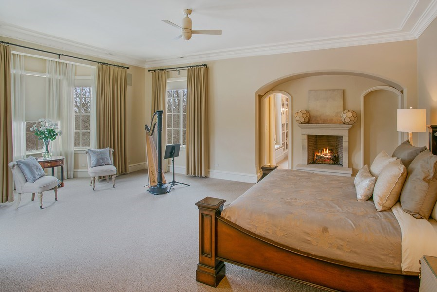 Real Estate Photography - 111 E. ONWENTSIA Road, Lake Forest, IL, 60045 - Master Bedroom