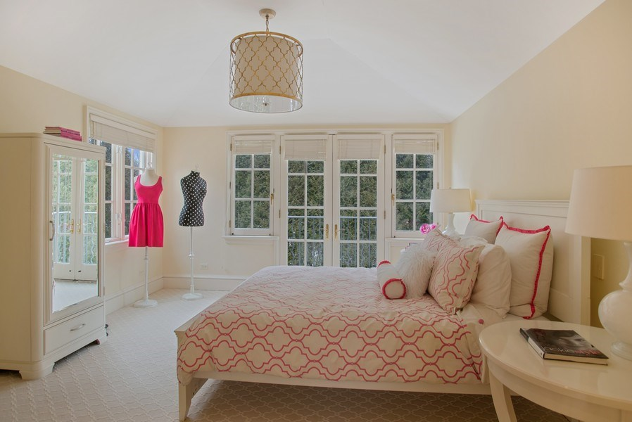 Real Estate Photography - 111 E. ONWENTSIA Road, Lake Forest, IL, 60045 - 4th Bedroom