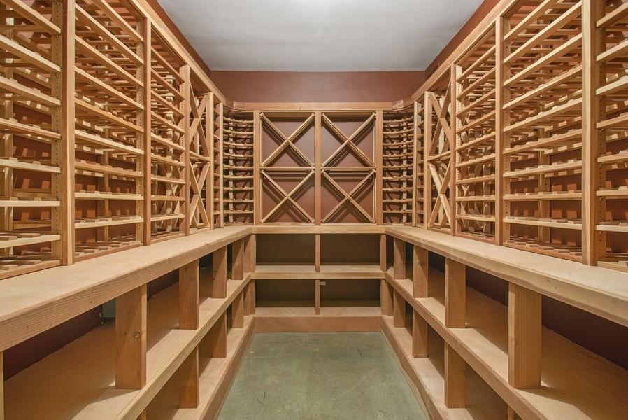 Real Estate Photography - 111 E. ONWENTSIA Road, Lake Forest, IL, 60045 - Wine Cellar