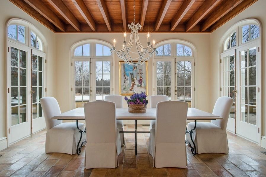 Real Estate Photography - 111 E. ONWENTSIA Road, Lake Forest, IL, 60045 - Breakfast Area