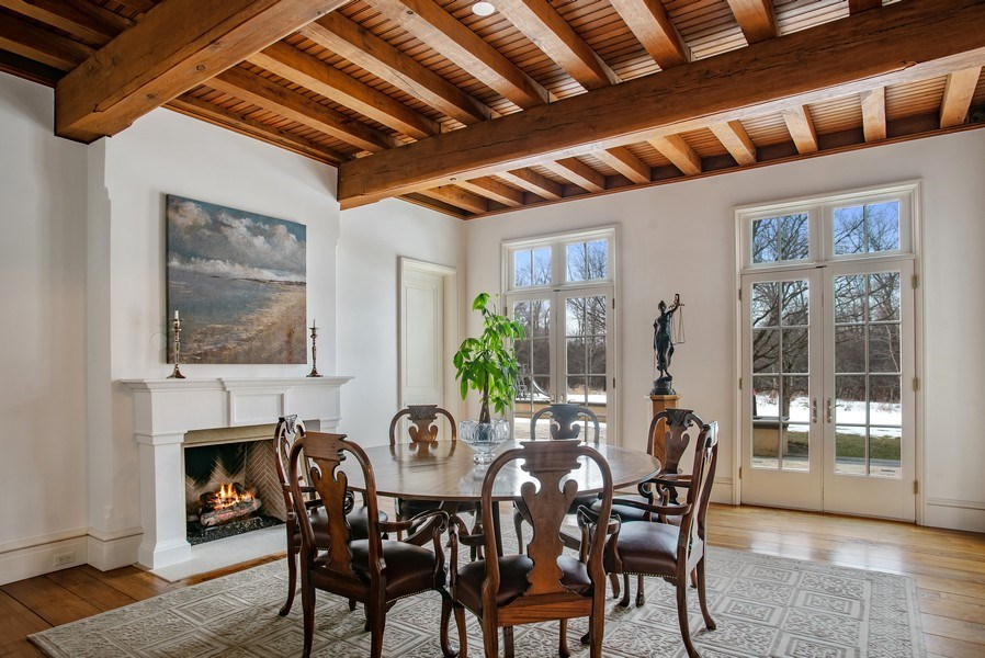 Real Estate Photography - 111 E. ONWENTSIA Road, Lake Forest, IL, 60045 - Dining Room