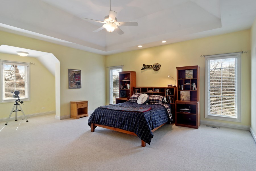 Real Estate Photography - 15 Woodview Lane, Inverness, IL, 60067 - Bedroom 4