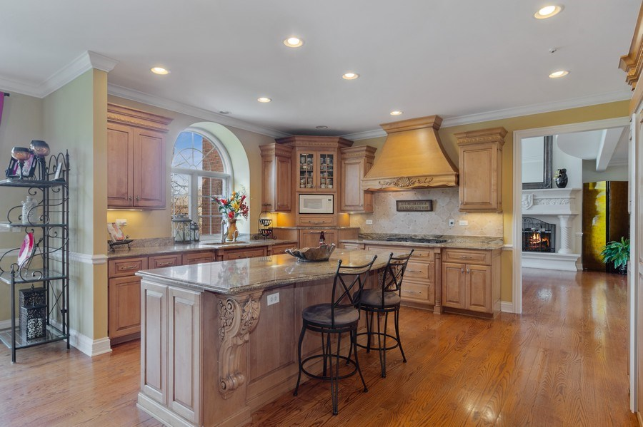 Real Estate Photography - 15 Woodview Lane, Inverness, IL, 60067 - Kitchen