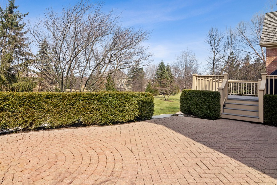 Real Estate Photography - 15 Woodview Lane, Inverness, IL, 60067 - Patio