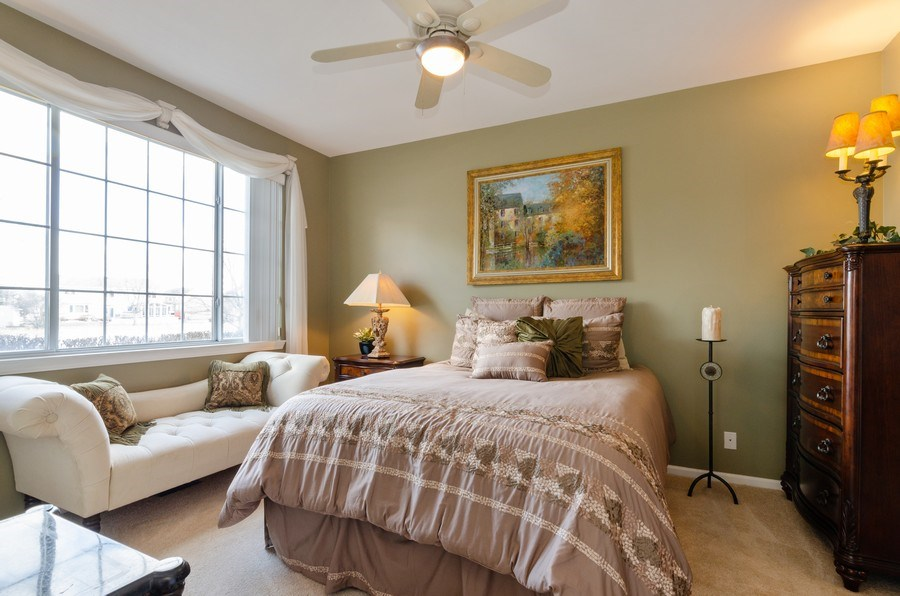 Real Estate Photography - 7321 Grandview Court, Unit 7321, Carpentersville, IL, 60110 - Master Bedroom