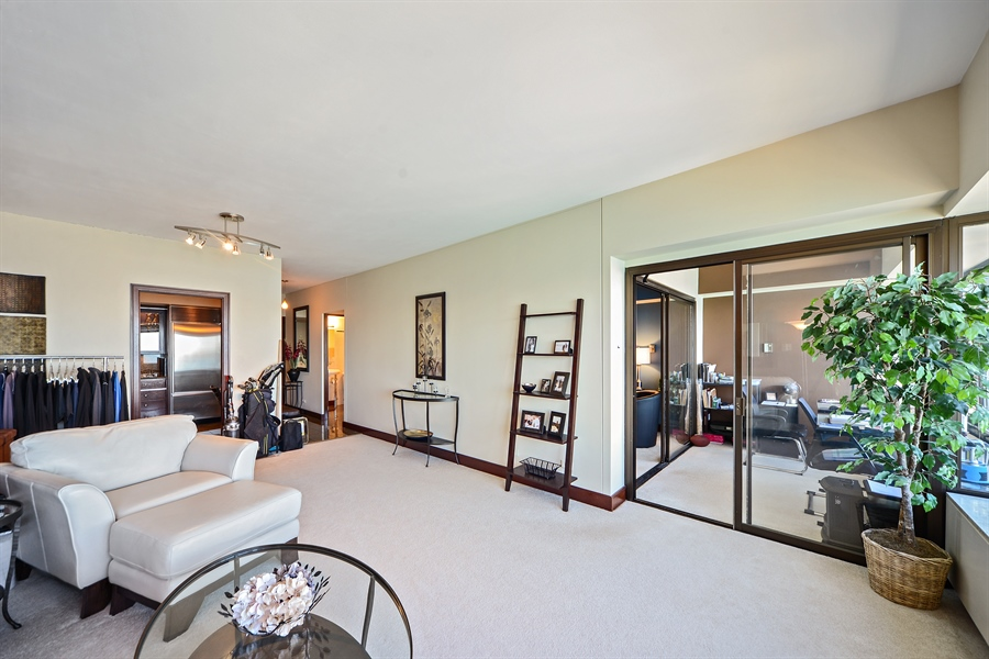 Real Estate Photography - 175 E. DELAWARE Place, Unit 6107, Chicago, IL, 60611 - Living Room