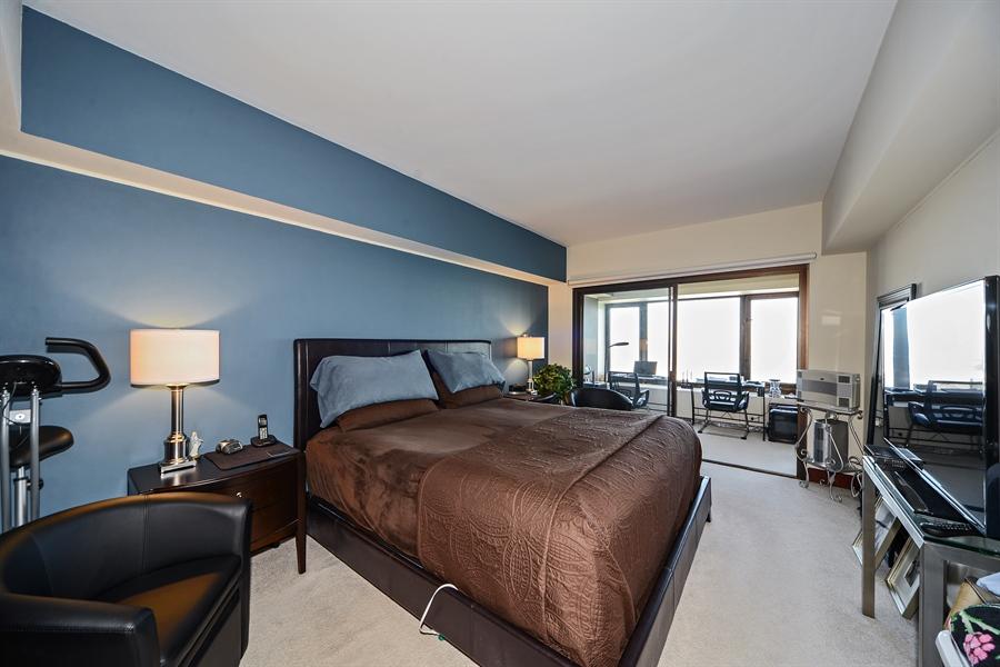 Real Estate Photography - 175 E. DELAWARE Place, Unit 6107, Chicago, IL, 60611 - Master Bedroom