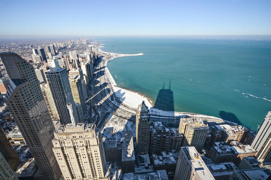 Real Estate Photography - 175 E. DELAWARE Place, Unit 6107, Chicago, IL, 60611 - View
