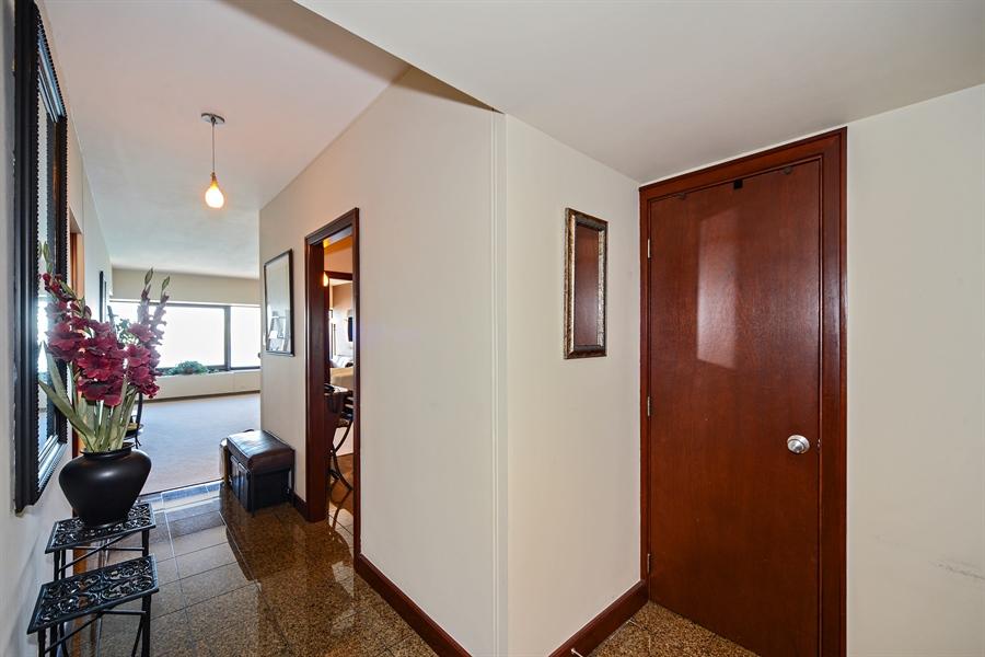 Real Estate Photography - 175 E. DELAWARE Place, Unit 6107, Chicago, IL, 60611 - Foyer