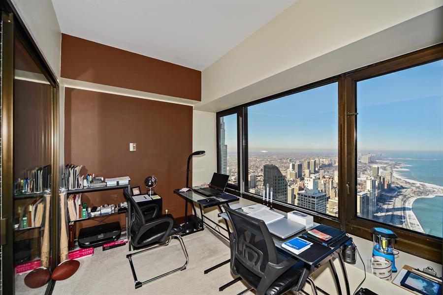 Real Estate Photography - 175 E. DELAWARE Place, Unit 6107, Chicago, IL, 60611 - Office