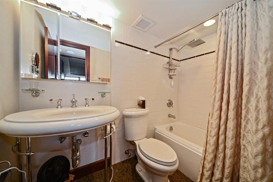 Real Estate Photography - 175 E. DELAWARE Place, Unit 6107, Chicago, IL, 60611 - Bathroom