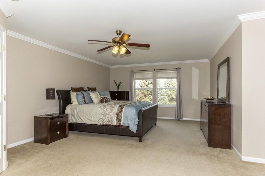 Real Estate Photography - 2400 Mckenzie Court, Aurora, IL, 60503 - Master Bedroom