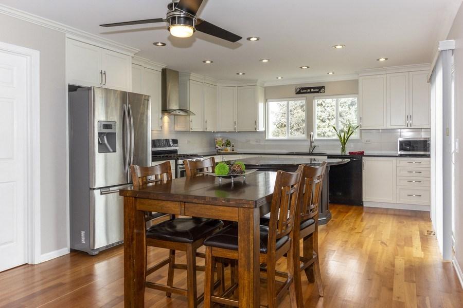 Real Estate Photography - 2400 Mckenzie Court, Aurora, IL, 60503 - Kitchen / Breakfast Room