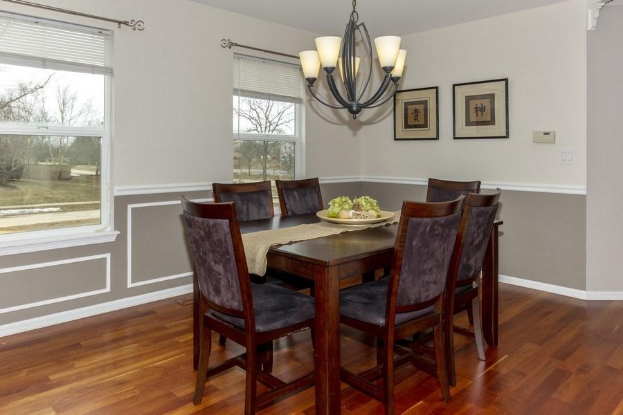 Real Estate Photography - 2400 Mckenzie Court, Aurora, IL, 60503 - Dining Room