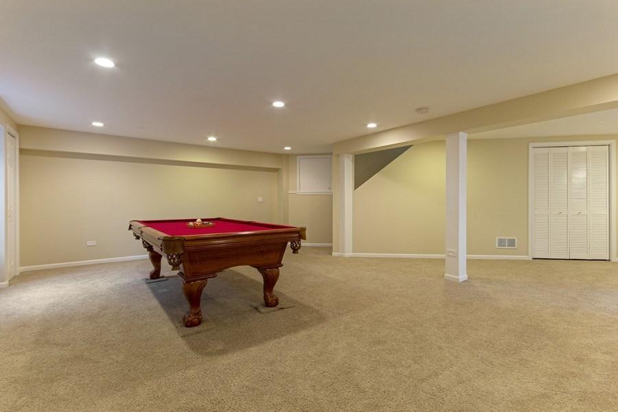 Real Estate Photography - 2400 Mckenzie Court, Aurora, IL, 60503 - Basement Rec Area