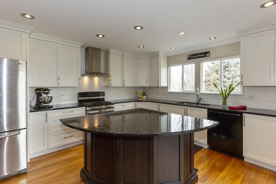 Real Estate Photography - 2400 Mckenzie Court, Aurora, IL, 60503 - Kitchen