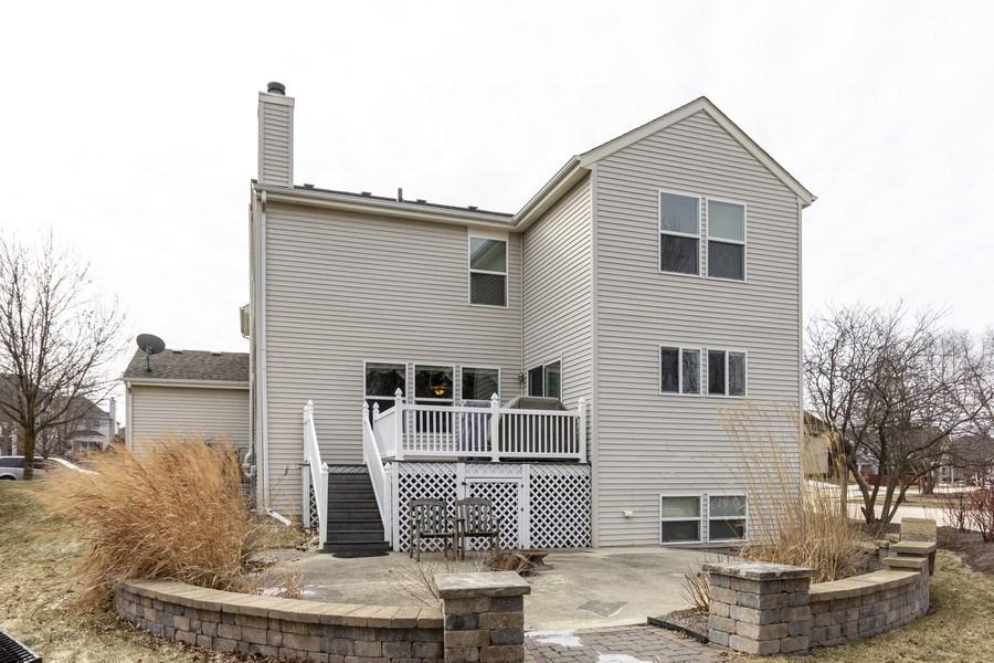 Real Estate Photography - 2400 Mckenzie Court, Aurora, IL, 60503 - Rear View