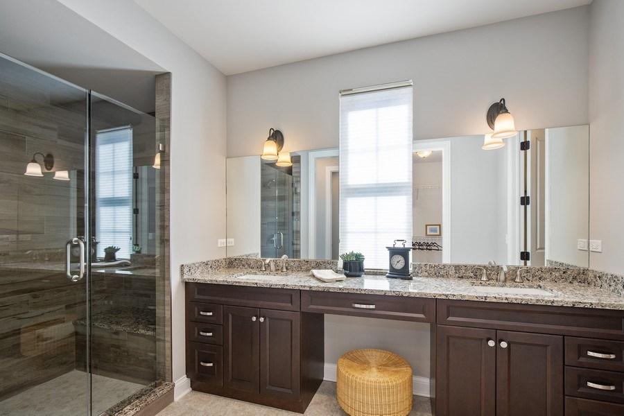 Real Estate Photography - 1105 Rebecca Court, Libertyville, IL, 60048 - Master Bathroom
