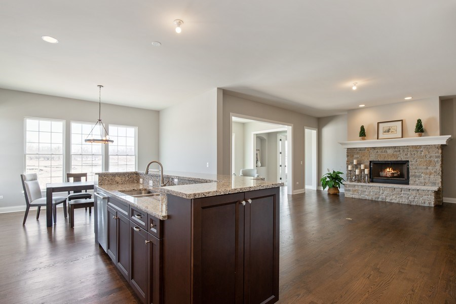 Real Estate Photography - 1105 Rebecca Court, Libertyville, IL, 60048 - Kitchen