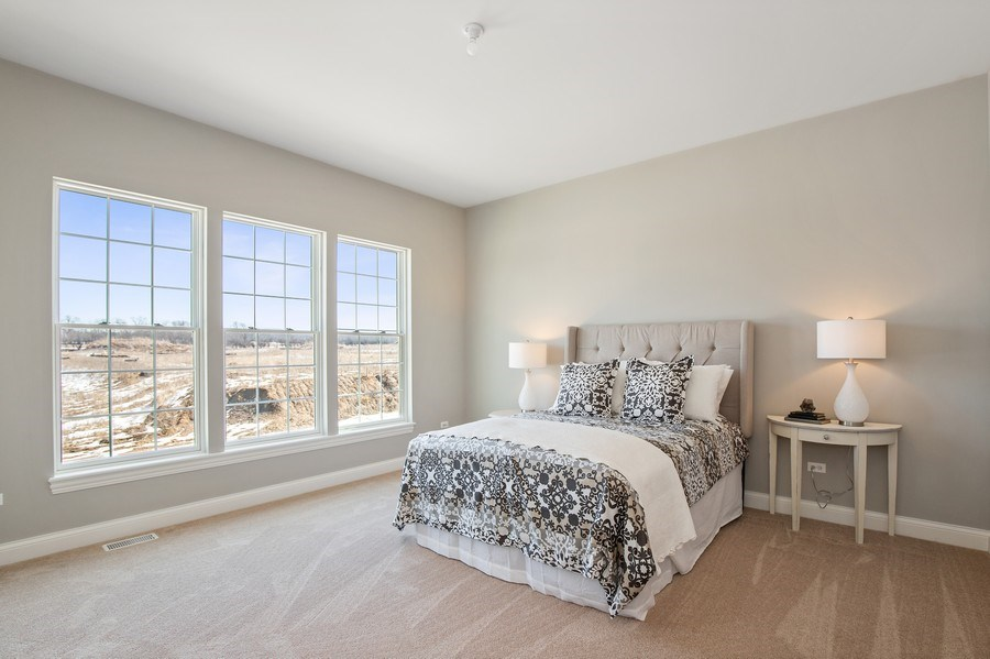 Real Estate Photography - 1105 Rebecca Court, Libertyville, IL, 60048 - Master Bedroom