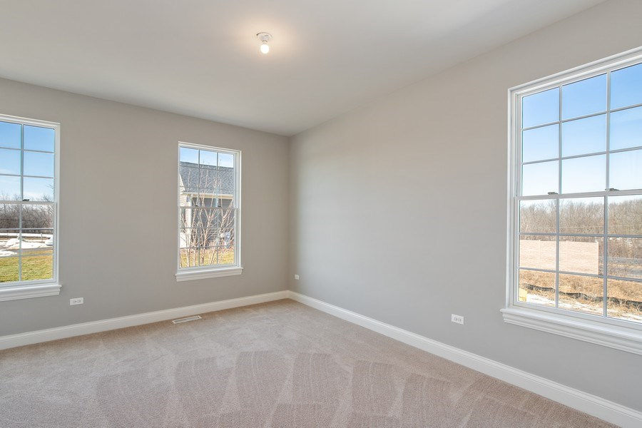 Real Estate Photography - 1105 Rebecca Court, Libertyville, IL, 60048 - Bedroom