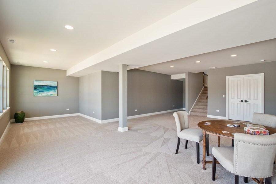 Real Estate Photography - 1105 Rebecca Court, Libertyville, IL, 60048 - Basement