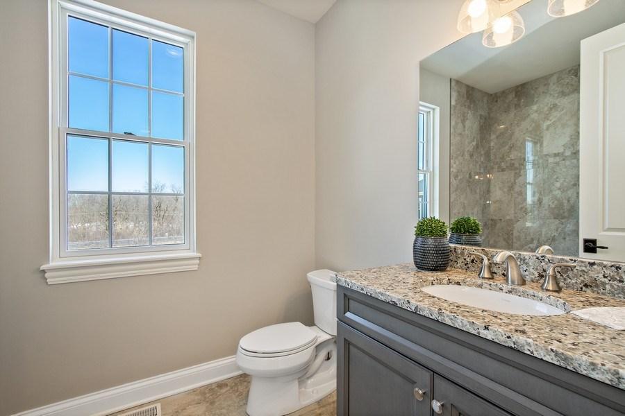 Real Estate Photography - 1105 Rebecca Court, Libertyville, IL, 60048 - Bathroom