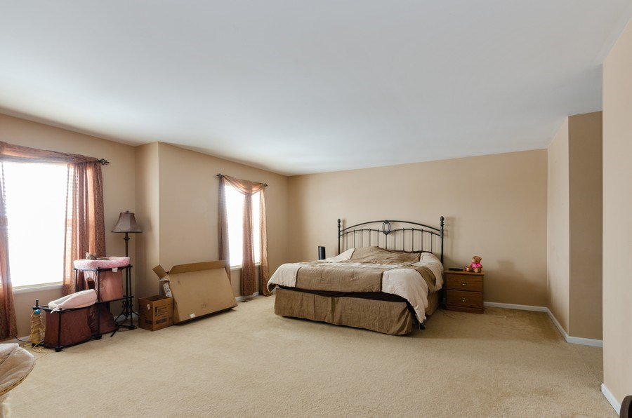 Real Estate Photography - 3633 Sonoma Circle, Lake In The Hills, IL, 60156 - Master Bedroom