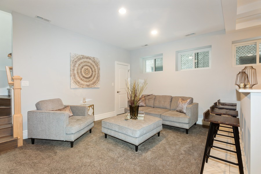 Real Estate Photography - 4607 S. Calumet Avenue, Chicago, IL, 60653 - Lower Level