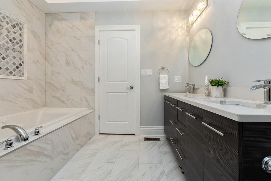 Real Estate Photography - 4607 S. Calumet Avenue, Chicago, IL, 60653 - Master Bathroom