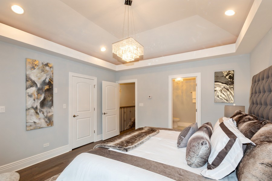 Real Estate Photography - 4607 S. Calumet Avenue, Chicago, IL, 60653 - Master Bedroom