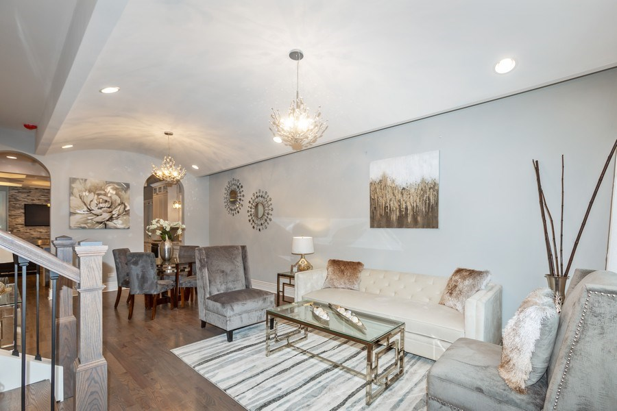 Real Estate Photography - 4607 S. Calumet Avenue, Chicago, IL, 60653 - Living Room / Dining Room