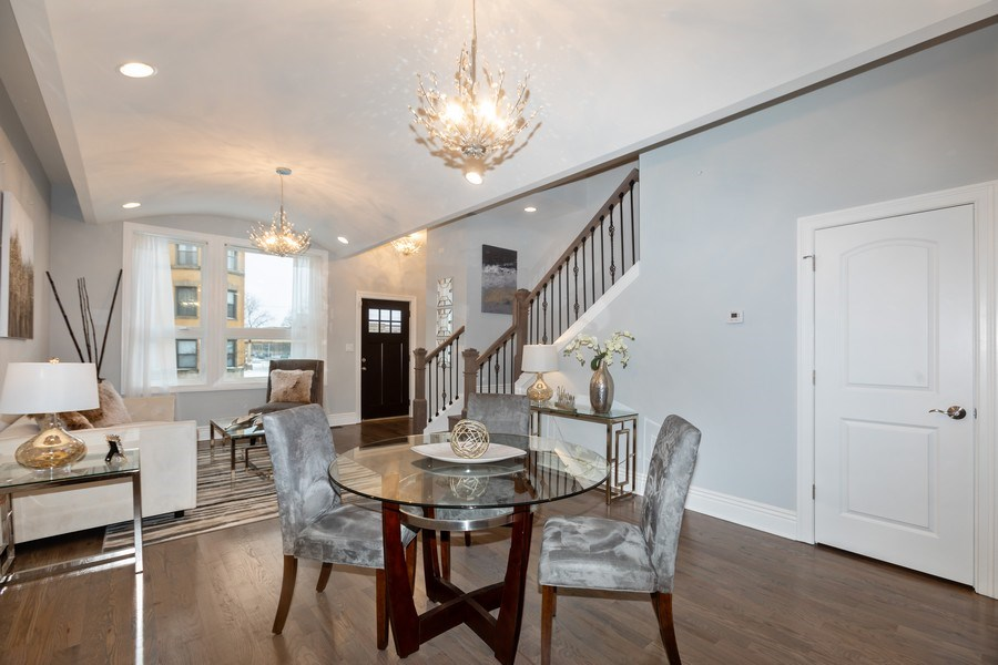 Real Estate Photography - 4607 S. Calumet Avenue, Chicago, IL, 60653 - Living Room/Dining Room