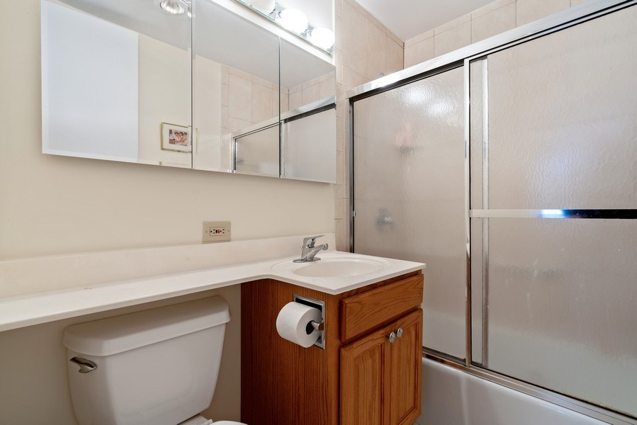 Real Estate Photography - 2626 N. Lakeview Avenue, Unit 1801, Chicago, IL, 60614 - Master Bathroom