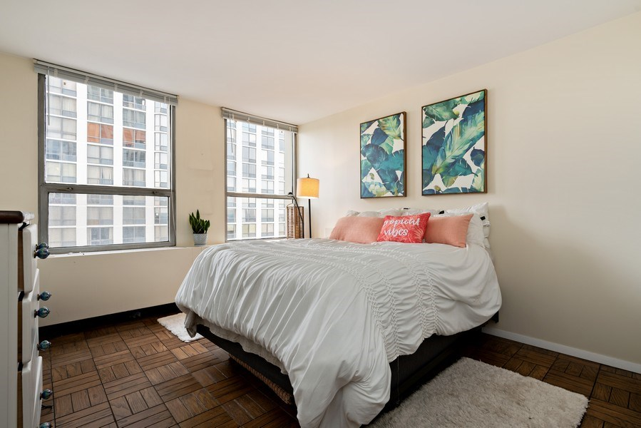 Real Estate Photography - 2626 N. Lakeview Avenue, Unit 1801, Chicago, IL, 60614 - 2nd Bedroom