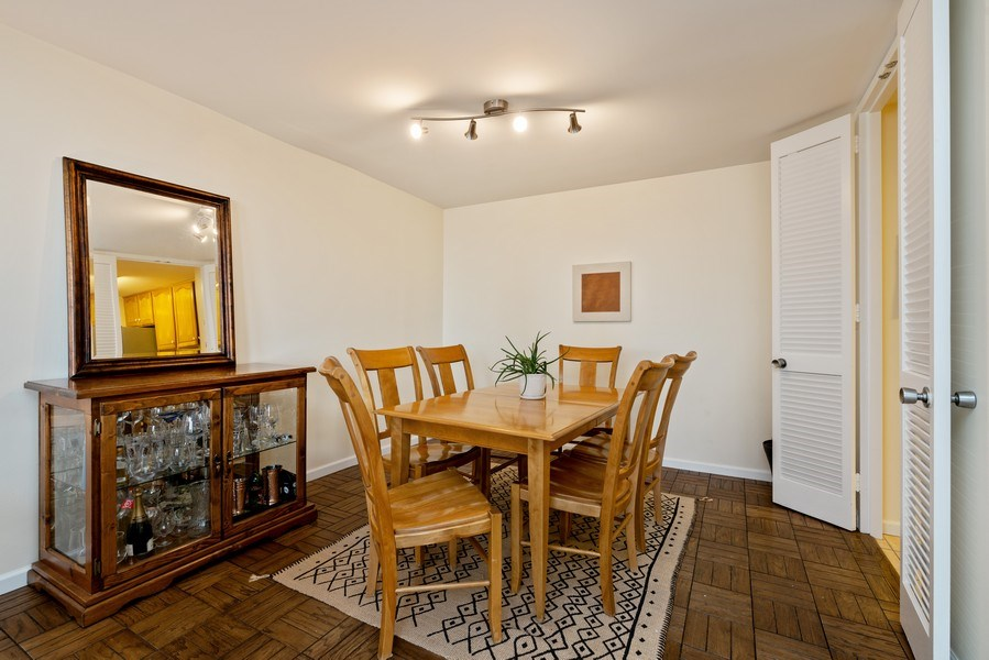 Real Estate Photography - 2626 N. Lakeview Avenue, Unit 1801, Chicago, IL, 60614 - Dining Room