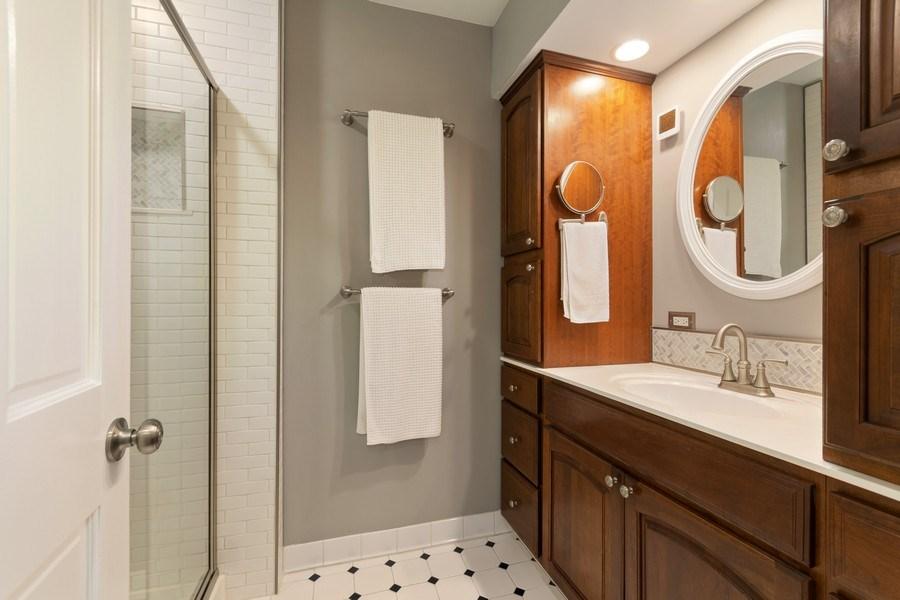 Real Estate Photography - 204 E. 14th Avenue, Naperville, IL, 60563 - Master Bathroom