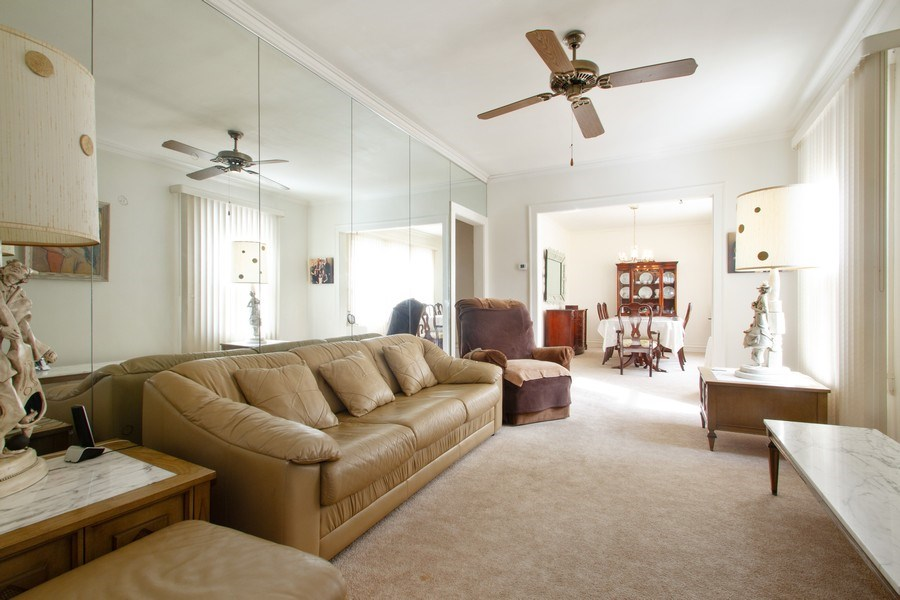 Real Estate Photography - 6585 N. Onarga Avenue, Chicago, IL, 60631 - Living Room
