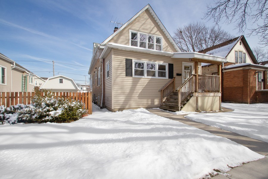 Real Estate Photography - 6585 N. Onarga Avenue, Chicago, IL, 60631 - Front View