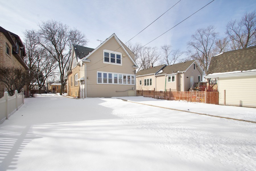 Real Estate Photography - 6585 N. Onarga Avenue, Chicago, IL, 60631 - Rear View