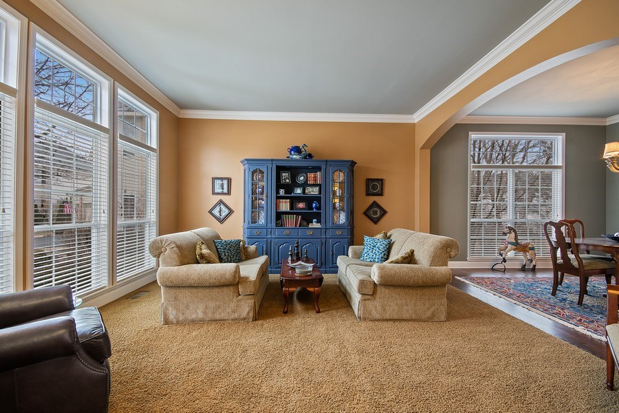 Real Estate Photography - 1508 Cocalico Court, Naperville, IL, 60563 - Notice the full windows & arch detail