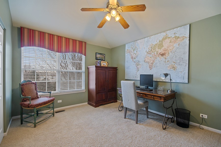 Real Estate Photography - 1508 Cocalico Court, Naperville, IL, 60563 - All closets have custom fitted interiors